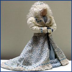 Victorian Dolls, Victorian Traditions, The Victorian Era, and Me: My Beautiful Victorian Lady Doll Julia Bridget - Victorian Lady Doll
