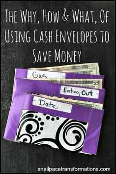 Struggling to stay on budget? Try cash envelopes. They won't just help you stay on budget they may even help you save more money.