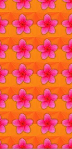 I ❤ NARANJA + MAGENTA Textura flores.
