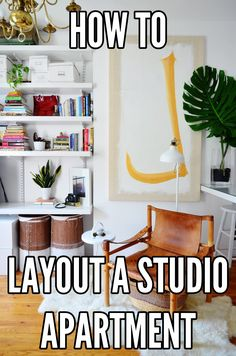 One of the biggest challenges of living in a single room is figuring out where to put the furniture. Since my current home is a 250 square foot studio, I've experienced this frustration firsthand, so I've decided to create a handy guide to steer you through the process of laying out your studio apartment.