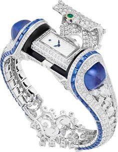 29 Vendôme - Bijoux et Haute Joaillerie : Van Cleef & Arpels Montre Heure Marine - Trésor marin - Les bijoux qui donnent l'heure