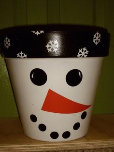 Snowman Jar- maybe tissue paper and Mod Podge/glue mix on the inside instead of using up all the paint and waiting a thousand years for it to dry? Description from pinterest.com. I searched for this on bing.com/images