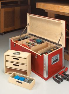 High-Tech Tool Chest | Woodsmith Plans
