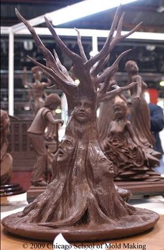 The Chicago School of Mold Making - Gulfood: Chocolate Showpieces and Carvings '09