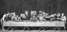Antique litho print The Last Supper Leonardo da Vinci Il Cenacolo 1895 Italy Painting, Mural Painting, The Last Supper Tattoo, Book Of Matthew, Saint Matthew, Victorian Books, Litho Print, Angel Art, Bible Stories