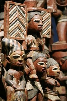 "detail of the Bamgboye of Odo-Owa Epa Headdress, part of the Newark Museum exhibit ""Embodying the Sacred in Yoruba Art. African Theme, African Art, Yoruba People, African Sculptures, Beauty In Art, Museum Exhibition, People Of The World, West Africa, Tribal Art"