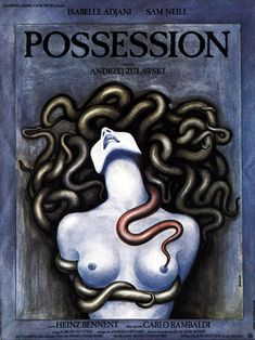 Possession (1981) by Andrzej Zulawski.  The visual escatology of cinematography (and the best performance ever by Isabelle Adjani while screaming and giving birth to a lovecraftian creature in a deserted subway).