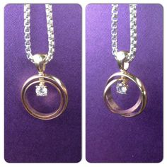 after my husband was killed in the line of duty on march i had our wedding bands made into a necklace for my daughter the rings were engraved with our - Wedding Ring Necklace