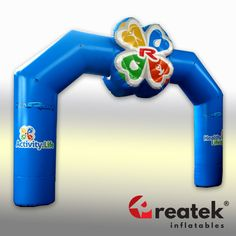 Advertising event arch: send us your logo, artwork, and color requirements. Logo Shapes, Bouncy Castle, Indoor Playground, Finish Line, Playroom, Arch, Advertising, Europe, Branding