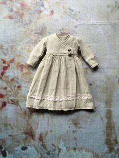 :: Crafty :: Doll :: Clothes 2 :: Cache Coeur Dress for Blythe-Pistachio