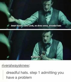 Time Lords fashion from Doctor Who. Space Man, Serie Doctor, Doctor Who Funny, Doctor Who Humor, Doctor Who Fez, Sherlock Doctor Who, Don't Blink, Eleventh Doctor, Torchwood