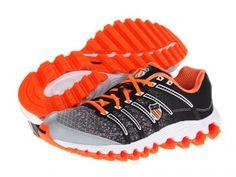 Tênis K-Swiss Men's Tubes™ Run 100 Safety Orange Black Line Fade #Tênis #K-Swiss