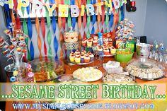 My Simple Obsession: AB's Sesame Street Birthday Bash