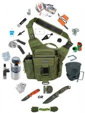 The Survival Stores Maxpedition Versipack De-Luxe Go Bag - The Ultimate Survival Kit.