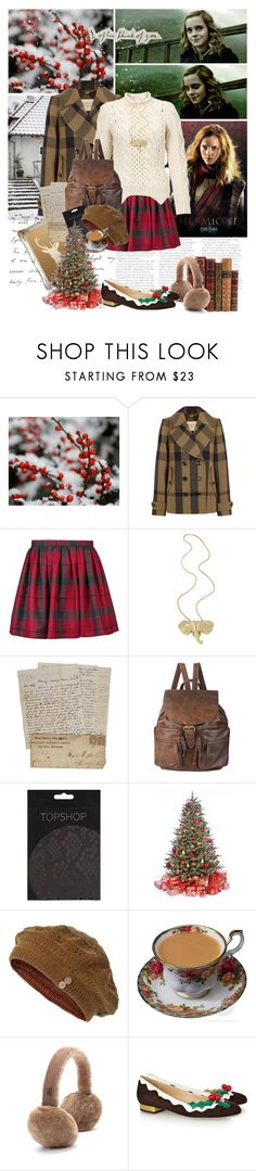 """""Be brave enough to hold on that life will be beautiful again."" - Anon."" by bittersweet89 ❤ liked on Polyvore featuring Burberry, Olympia Le-Tan, Yigal AzrouÃ«l, DANNIJO, Forever 21, Topshop, Fat Face, EMU Australia, Charlotte Olympia and harry potter"