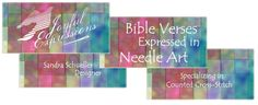 Free Cross Stitch Designs featuring Bible Verses, Free cross-stitch charts, Stitch a gift of encouragement and praise, Free charts and Stitching Instructions Cross Stitch Charts, Cross Stitch Designs, Cross Stitch Patterns, Stitch Delight, Favorite Bible Verses, Jesus On The Cross, Friendship Gifts, Knitting Stitches, Cross Stitching