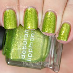 Deborah Lippmann Weird Science | Holiday 2014 Fantastical Collection | Peachy Polish