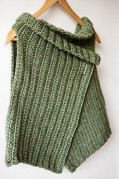 New Ideas for crochet poncho tunisian Crochet Bolero Pattern, Gilet Crochet, Crochet Cape, Crochet Poncho Patterns, Crochet Shirt, Crochet Jacket, Crochet Cardigan, Knit Crochet, Tunisian Crochet