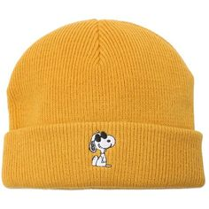 Vans Women Joe Cool Beanie Hat (249955 PYG) ❤ liked on Polyvore featuring accessories, hats, yellow, vans hats, beanie hat, beanie cap hat, embroidered beanie hats and yellow beanie hat