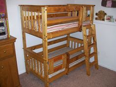 Plans To Build Toddler Size Bunk Beds