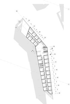 School Floor Plan, Hotel Floor Plan, Education Architecture, Architecture Drawings, Architecture Design, David Chipperfield Architects, Green Facade, Math Stem, Landscape Concept