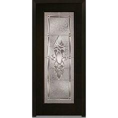 Bon National Door Z004164R Fiberglass Right Hand Prehung In Swing Entry Door,  Heirloom Master Decorative