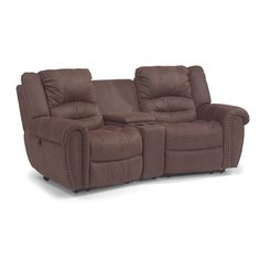 Magellan Ii 4 Pc Power Reclining Sectional With Music