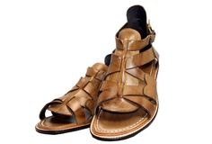 Markov old shop top new men's leather sandals Roman sandals seam package SF MG131009L Lynx