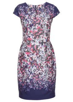 Sukienka Sukienka z kwiatowym nadrukiem • 149.99 zł • bonprix