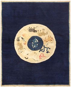 Antique Chinese Rug with Zodiac Signs 48524 Nazmiyal Antique Rugs Chinese Drawings, Childrens Rugs, Chinese Furniture, Antique China, Rug Making, Chinoiserie, Rugs On Carpet, Zodiac, Old Things