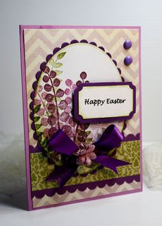 Easter Card  Handmade Card  Greeting Card  Happy by CardInspired