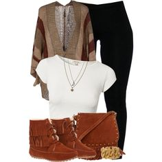 A fashion look from October 2013 featuring Pianurastudio cardigans, River Island tops and Minnetonka ankle booties. Browse and shop related looks.