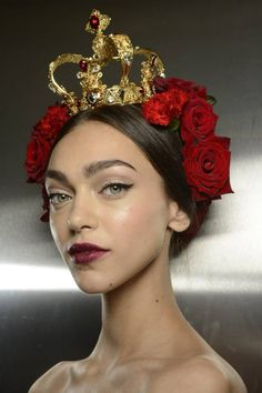 Dolce & Gabbana Spring 2015– Backstage – Fashion Style Magazine - Page 9