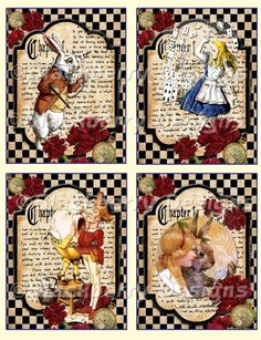Alicia Wonderland, Alice In Wonderland Crafts, Alice In Wonderland Illustrations, Adventures In Wonderland, Scrapbook Paper, Scrapbooking, Playing Cards Art, Mad Hatter Tea, Black And White Drawing