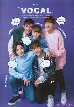 Vocal Unit Jeonghan-Woozi-Joshua-DK-Seungkwan