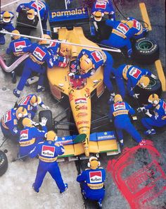 Pedro Diniz in the Forti at the 1995 Spanish GP. Carlo Gancia was a partner and the CIO (Income Officer) that raised the money for the Forti project. Spanish Grand Prix, First Car, Aircraft Carrier, Formula One, Motogp, Hot Wheels, Race Cars, Pilot, Motorcycles