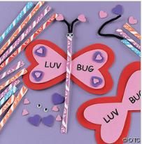 I am making this for my daughter's class, except I'm using a pencil instead of candy, my daughter just loves it!