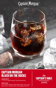 1000 images about captain 39 s cocktails on pinterest for What goes good with spiced rum