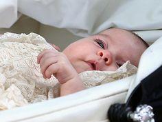 Princess Charlotte on her Christening day.  July 5, 2015.