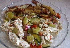 Magvas mustáros csirkemell Zucchini, Chicken, Vegetables, Food, Essen, Vegetable Recipes, Meals, Yemek, Veggies