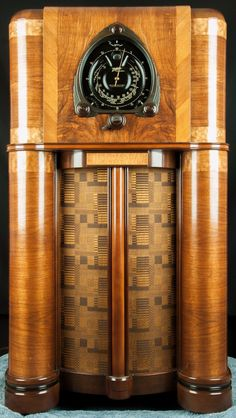 Zenith 1938 12 Tube Shutter Robot Dial Vacuum Tube Console Radio- RESTORED, wor | eBay