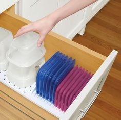 Drawer StoraStack. Food Container Storage.