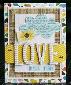Bella Blvd Card from CHA!