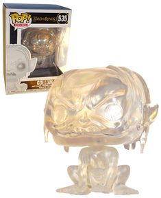 Funko POP! Movies Lord Of The Rings #535 Invisible Gollum - New, Mint Condition. https://www.ebay.com.au/itm/332579498305 OR https://www.supportivepc.com #Funko #FunkoPop #LordOfTheRings #Collectibles