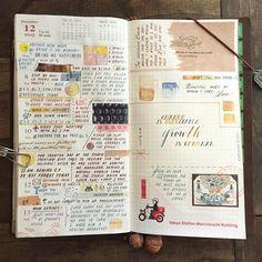 Week 50 in my Traveler's Notebook