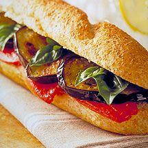 Delicioso bocadillo relleno de verduras, #entulinea #adelgazar con #salud