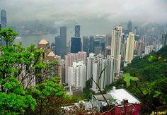 View from Victoria Peak #2 - Victoria Peak, Hong Kong.