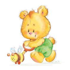 bear with bee