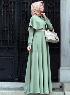 hijab fashion styles 2015 Muslimah Fashion & Style(Niqab hijab and dress - Hijab Islamic Fashion, Muslim Fashion, Modest Fashion, Fashion Outfits, Fashion Styles, Fashion 2015, Fashion Ideas, Trendy Dresses, Modest Dresses
