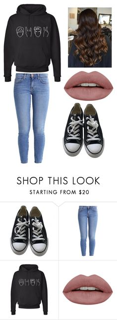 """No name#24"" by kyley-mays on Polyvore featuring Converse and Current/Elliott"
